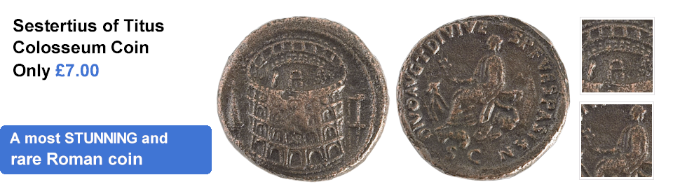 Replica Sestertius of Titus Coin