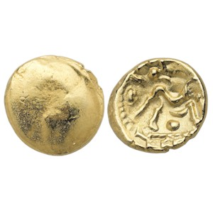 Ambiani Gallic War Gold Stater
