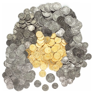 500 Mixed Medieval Coins