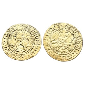 Henry VIII Gold Half-Angel