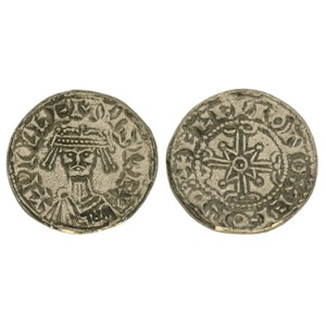 William I (The Conqueror) Penny - Bonnet Type