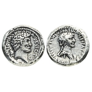 Denarius of Mark Antony and Cleopatra