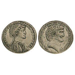Tetradrachm of Mark Antony and Cleopatra