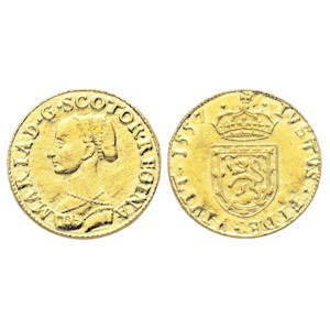 Mary I (Queen of Scots) Gold Ryal