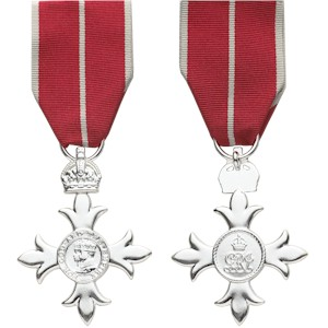 Member, The Most Excellent Order of the British Empire (MBE)