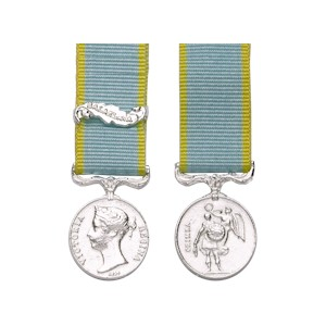Crimea Medal - Miniature