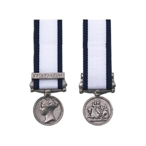 Naval General Service Medal - Miniature