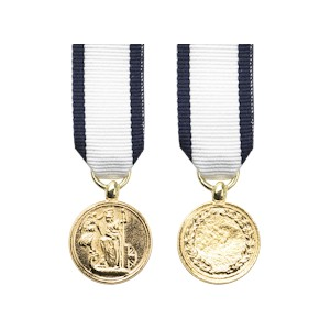 Naval Gold Medal - Miniature