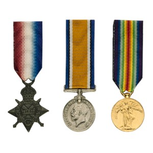 Pip, Squeak and Wilfred Medals - Miniature
