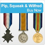 Pip, Squeak & Wilfred Medals